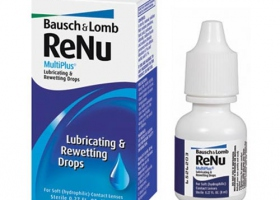 Капли для линз ReNu Multi+ Rewetting Drops 8ml